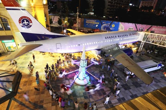 Lily Airways, in Cina apre un ristorante dentro un aereo