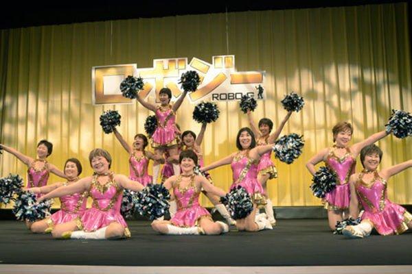 Japan Pom Pom, gruppo di cheerleader giapponesi dai 55 agli 84 anni