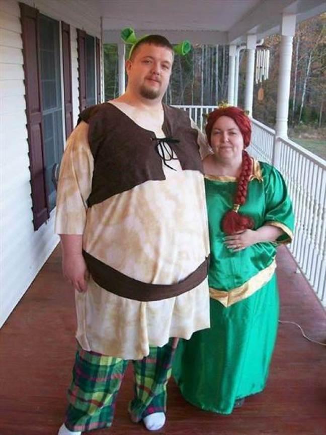 Shrek e Fiona