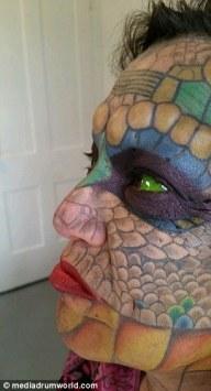 Eva Medusa - La donna transgender diventata un drago 9