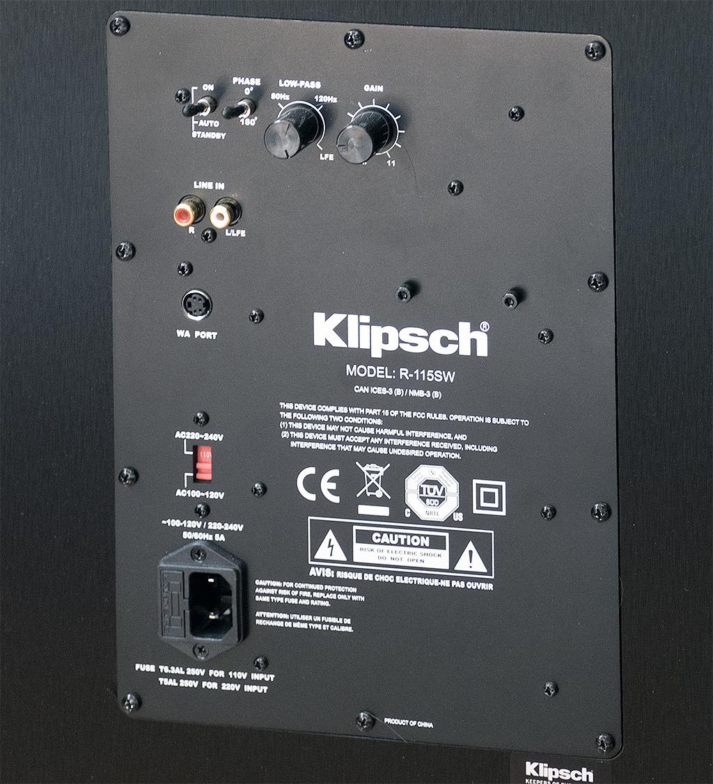 hight resolution of klipsch r 115sw subwoofer review abtec audio lounge blog klipsch sub 10 schematic klipsch subwoofer wiring diagram