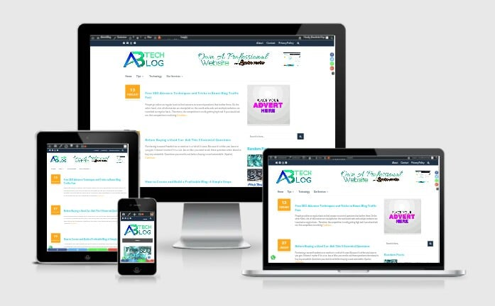 Responsive and Professional web design