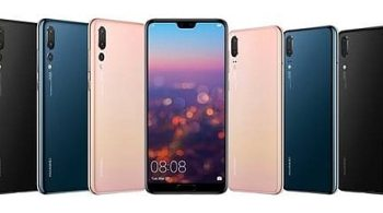 Huawei P20 with full screen display