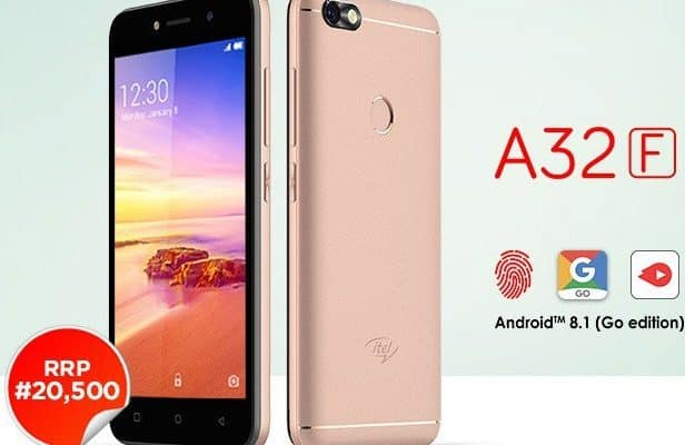 Itel A32F is Out With Android 8.1 Oreo Go Edition [See Specs and Price]