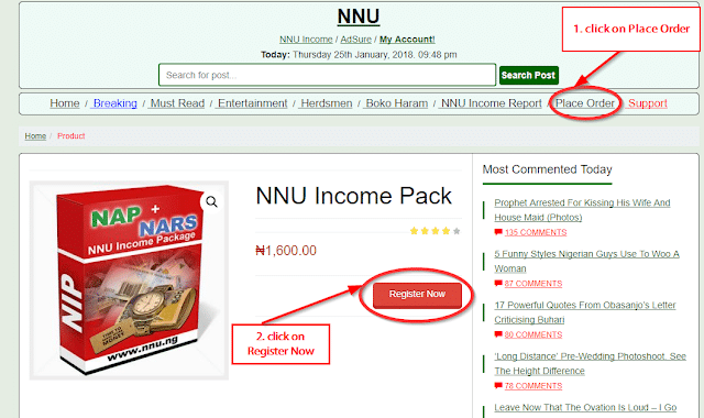How to make money with NNU income program