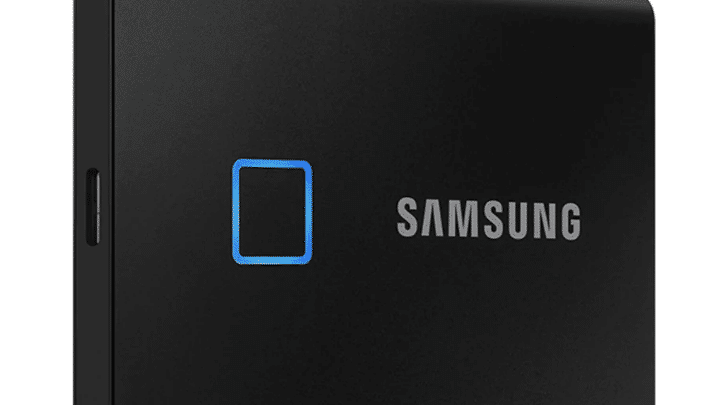 CES 2020: Samsung Launches Portable SSD T7 Touch With Fingerprint Sensor, Arrives Next Month in India