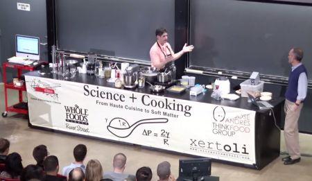 Scienza in Cucina 39 Video lezioni online Universit di Harvard