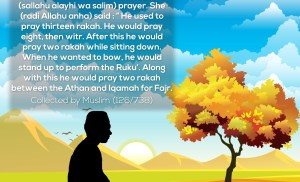 An Ignored Sunnah- Two Rakah after Witr Sitting