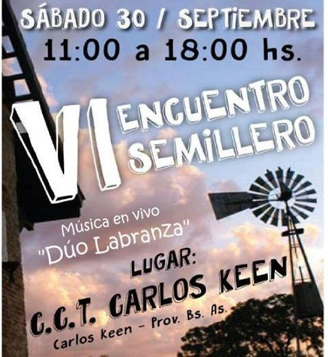 Encuentro Semillero en Carlos Keen