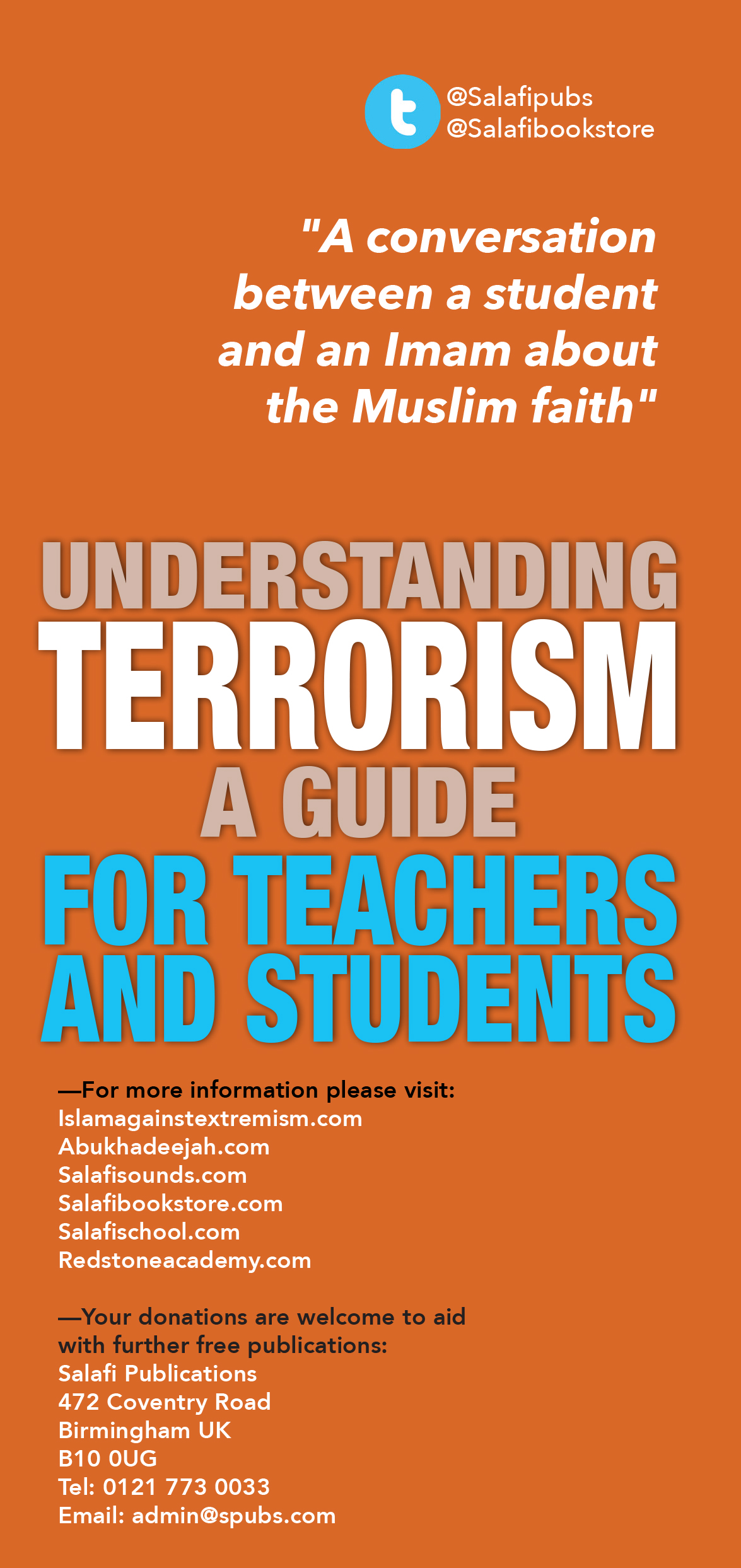 understanding terrorism Understanding terrorism by clarence augustus martin, 9781483378985, available at book depository with free delivery worldwide.