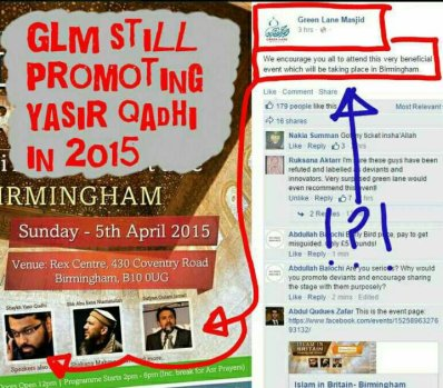 Even in 2015 GLM promoting Qadhi and al-Maghrib Institute
