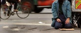 man street praying