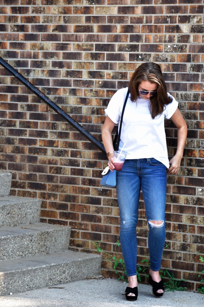 How To Style A Plain White Tee