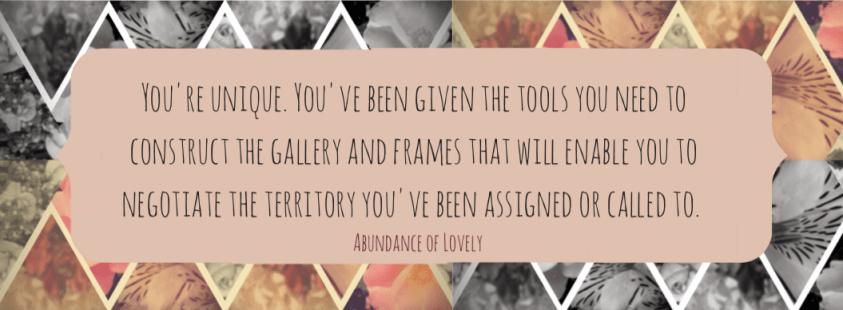 Unique Quote   Abundance of Lovely