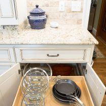 Organized Pull-Out Kitchen Drawer