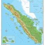 PETA SUMATERA HD : Gambar Pulau Sumatera Utara, Barat & Selatan