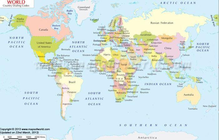 peta dunia hd