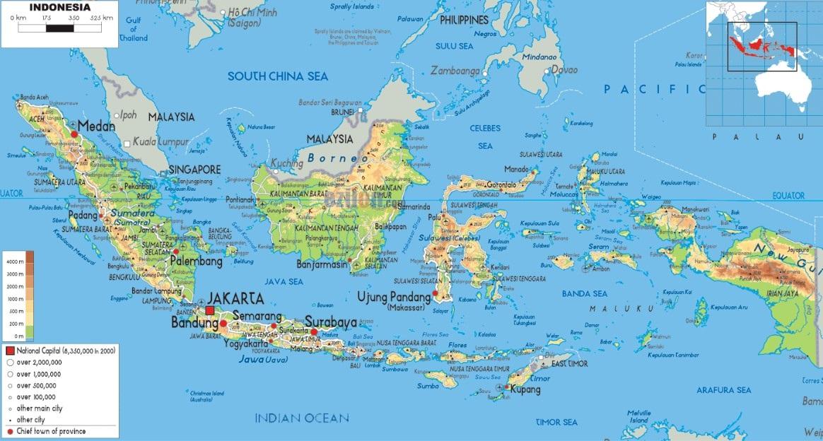Gambar teknik, peta, dokumen tender, blue print, penggandaan buku / dokumen. Peta Indonesia Hd Gambar Batas Luas Nama Provinsinya Lengkap The Book