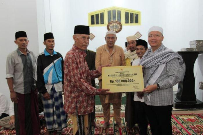 surat dana hibah untuk masjid
