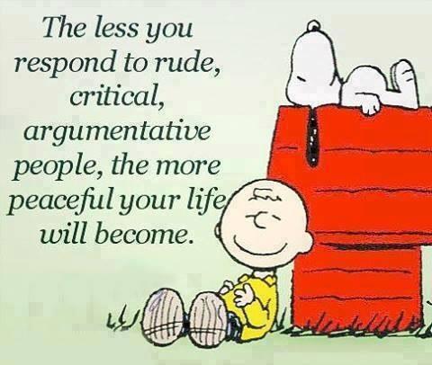 Snoopy Weekend Wisdom