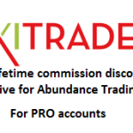 Get 22% off your commissions for life when you open a PRO account with AXITRADER TODAY!