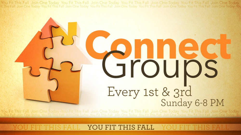 Connect Groups 2015