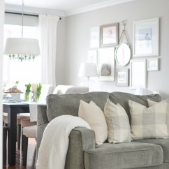 How To Decorate A Very Narrow Living Room Best White Paint For Dark Cozy Neutral Farmhouse Tour - City