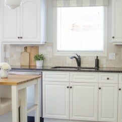 Kitchen Valance Industrial Tables Farmhouse Window Tutorial A Burst Of Beautiful Made From Neutral Buffalo Check Fabric Compliments This Simple Perfectly