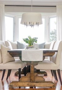 DIY Farmhouse Dining Table Plans - A Burst of Beautiful