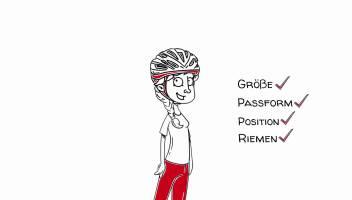 Fahrradhelm Malvorlage