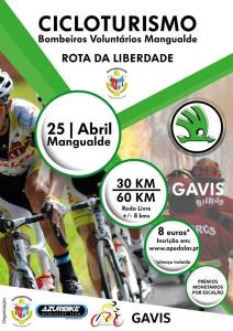 Cicloturismo BVM - Rota da Liberdade @ BV Mangualde | Mangualde | Portugal