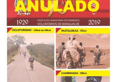 ANULADO – Passeio Cicloturismo