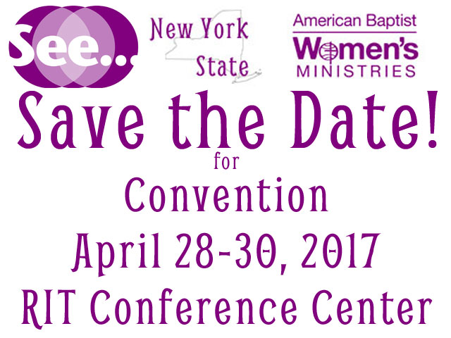 While we are waiting… Save the Date for Convention