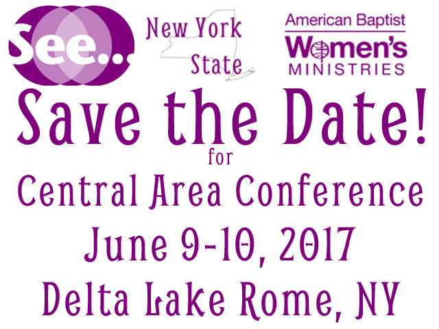 Save the Date Central Area Conference