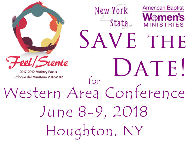 2018 Save the Date Western Conference
