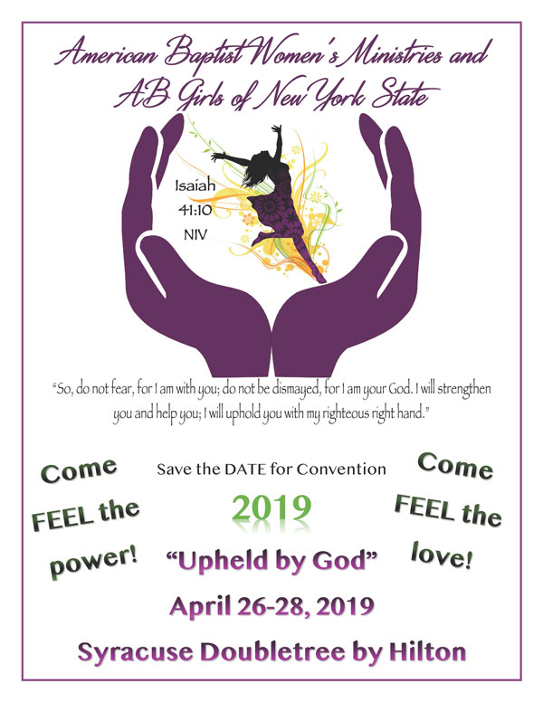 Convention … Spring 2019
