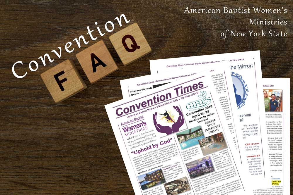 Convention FAQ