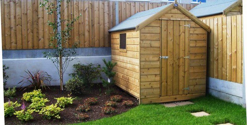 Abwood Homes  Garden Sheds Fencing  Decking Ireland
