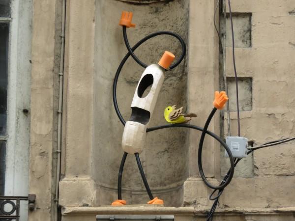 sculpture Mr Würst #1 – insitu lyon