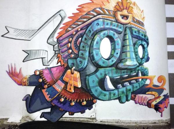 Tezcatlipoca – dieu Maya