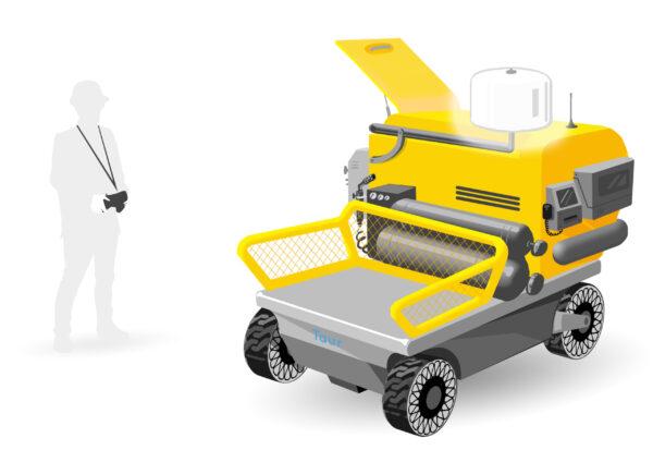 TAUR – drone à roue – prototype