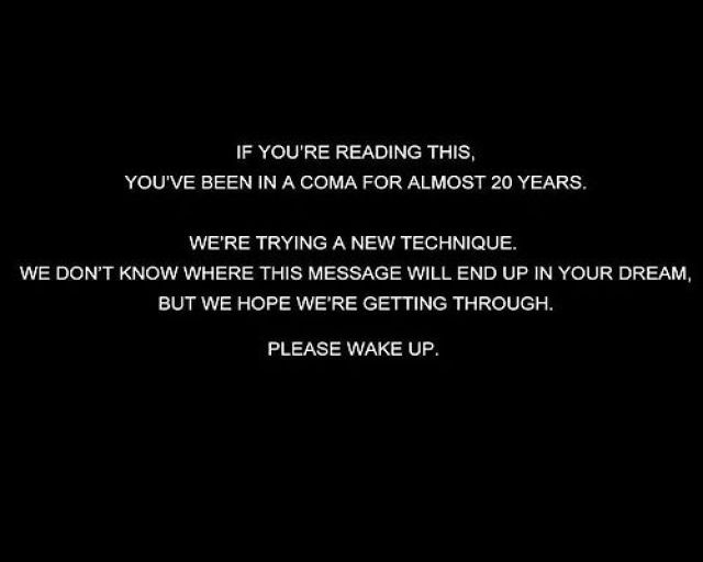 please wake up