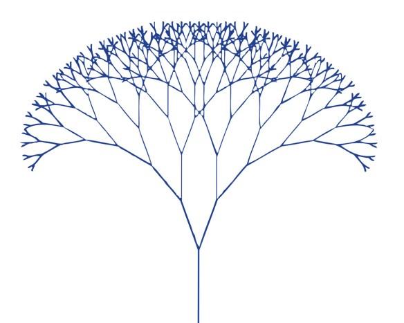 Tarjeta ABZU - fractal tree