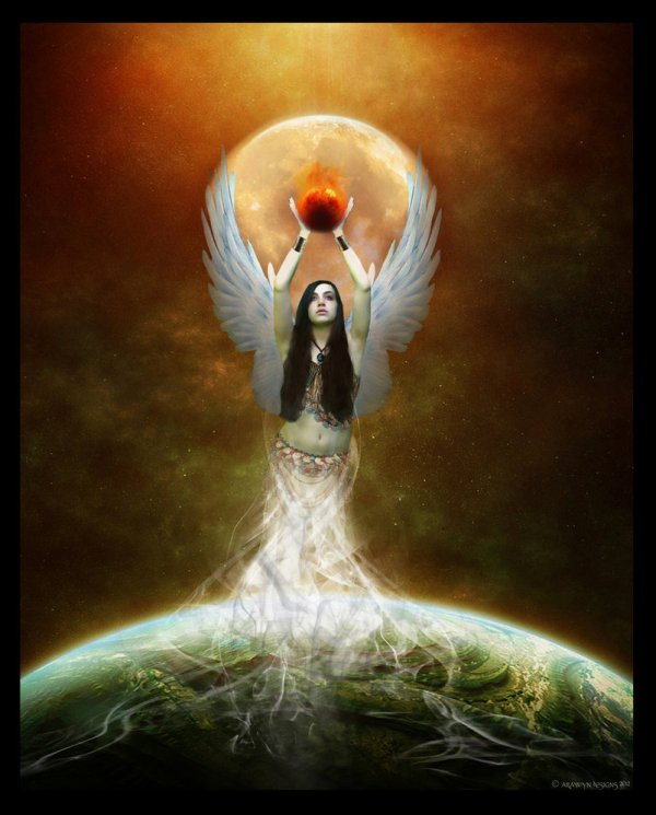 Goddess Isis Art