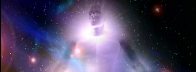 cosmic light man