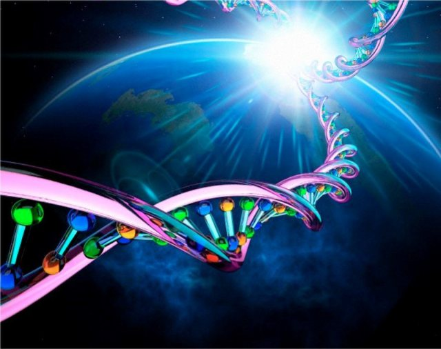 dna in space