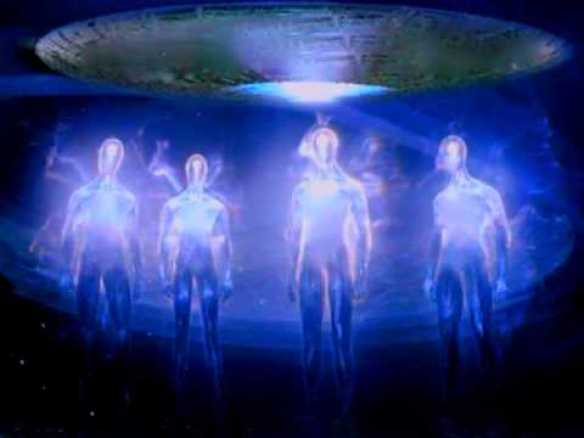 Arcturians and ship