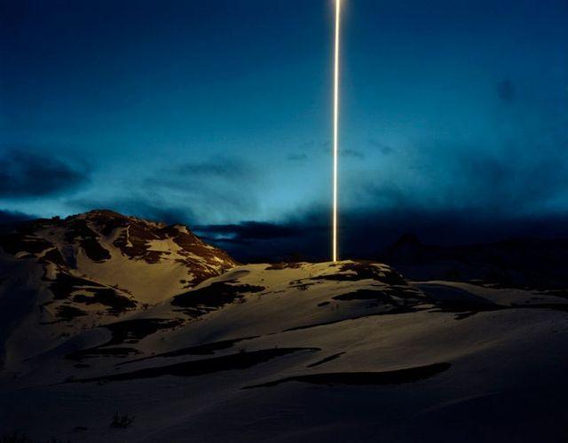 beam of light Signals