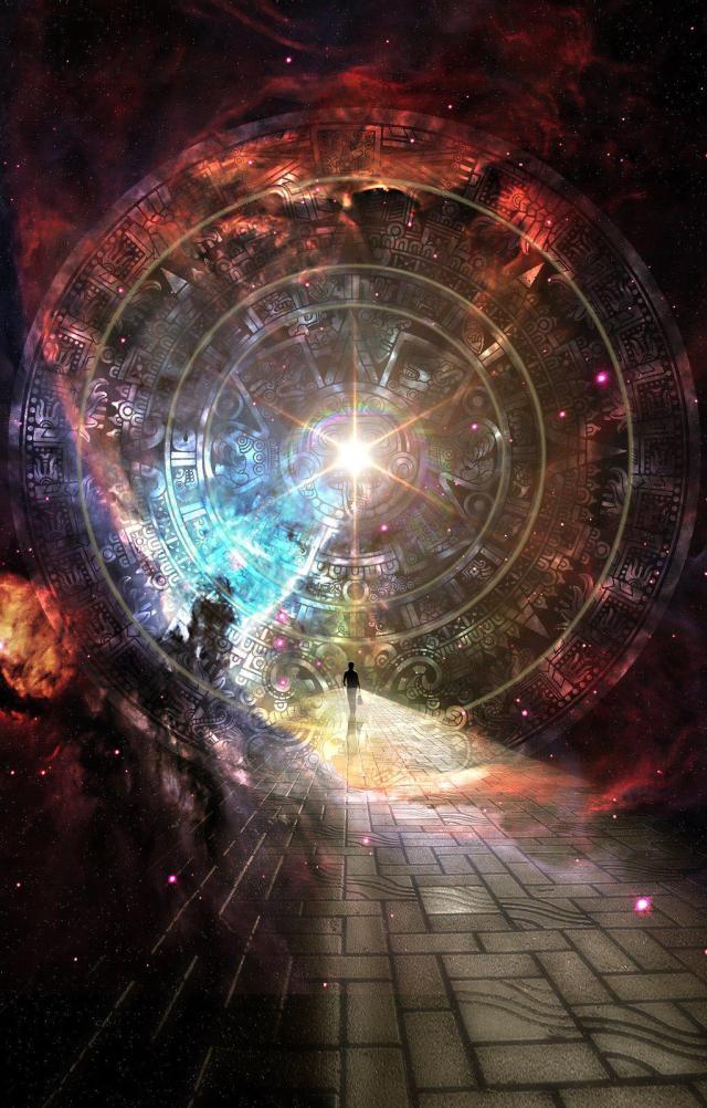 interdimensional path