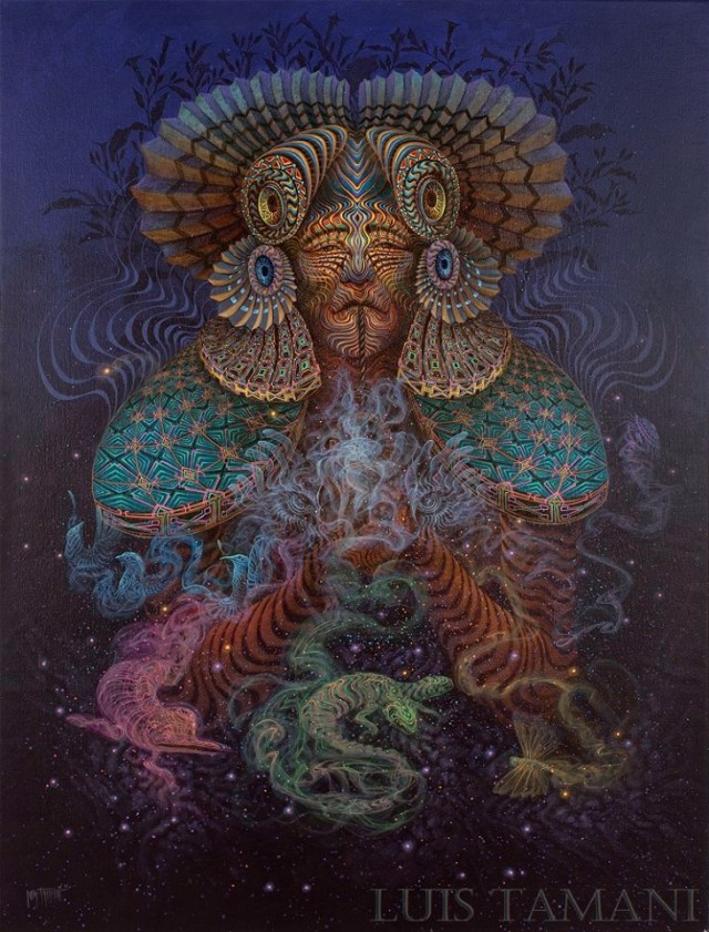 Luis Tamani_shaman spirits